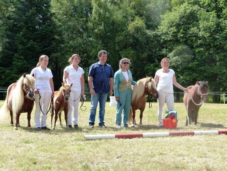 Prix de Progéniture, élevage de la Clairière. Crédit Photo Séverine Nanuel, élevage du Petit Gué