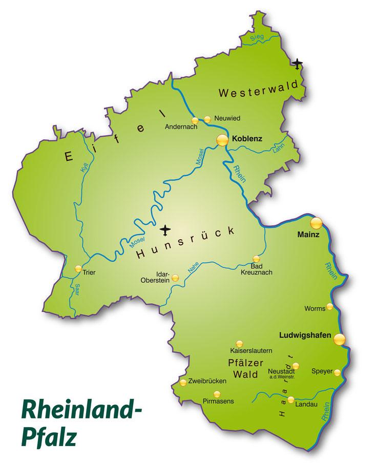 Detektei Rheinland-Pfalz, Detektiv Rheinland-Pfalz, Privatdetektiv Rheinland-Pfalz