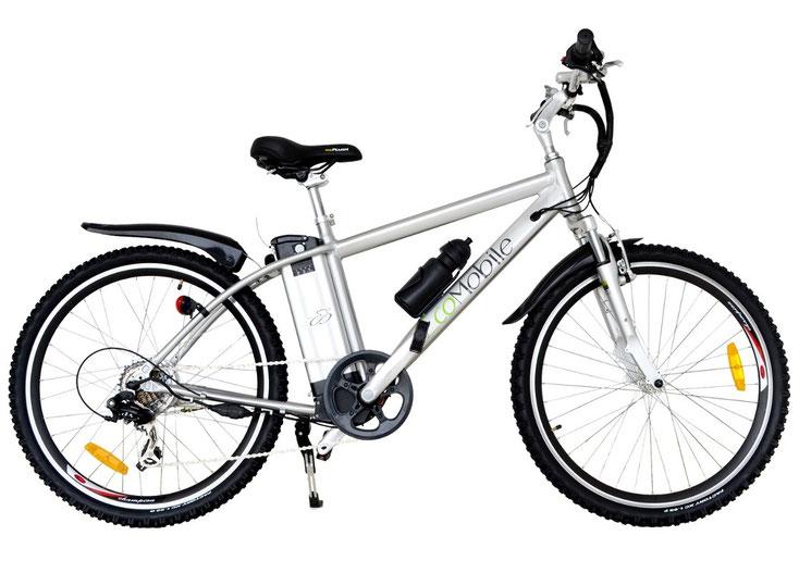 Con esta bicicleta eléctrica de Montaña viaja hasta 45 km diarios con una carga