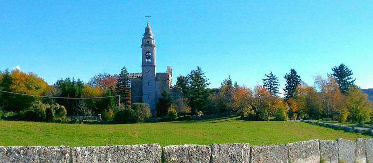 La chiesa settecentesca di San Marziale come appare oggi