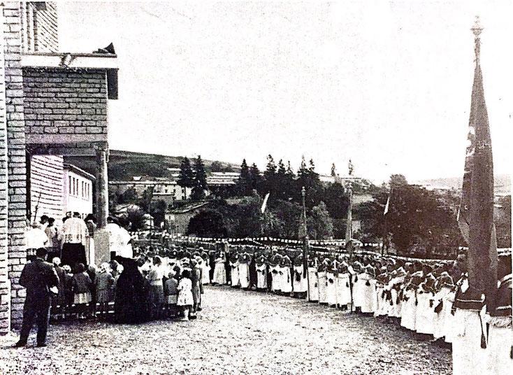 La cerimonia solenne di consacrazione