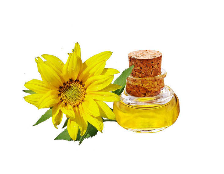 Sunflower oil is an example of a polyunsaturated fat which readily and easily oxidizes in the presence of light, oxygen, moisture and heat.