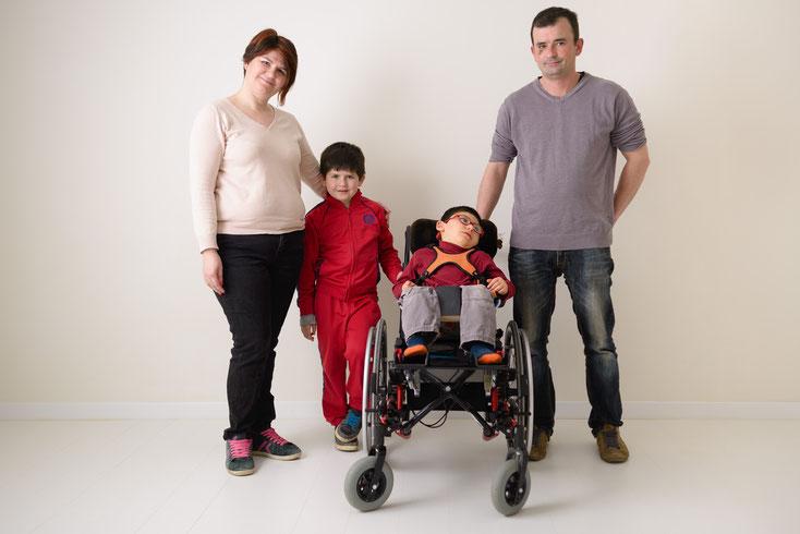 Nolan et sa famille