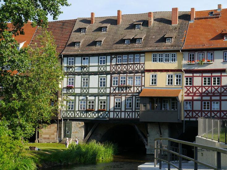 Die Krämerbrücke in Erfurt - auch Schauplatz des Krämerbrückenfests