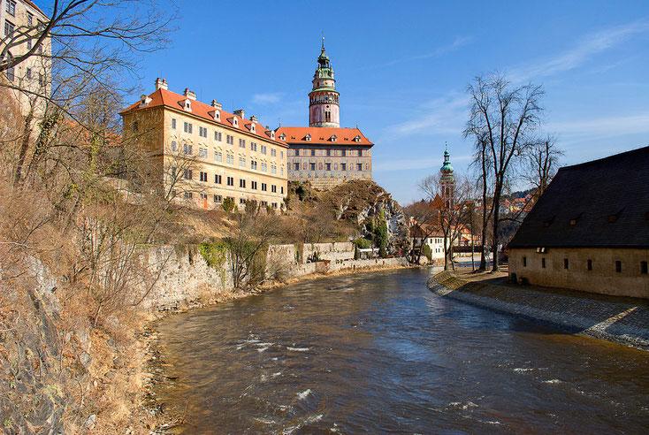 Schloss Krummau über der Moldau