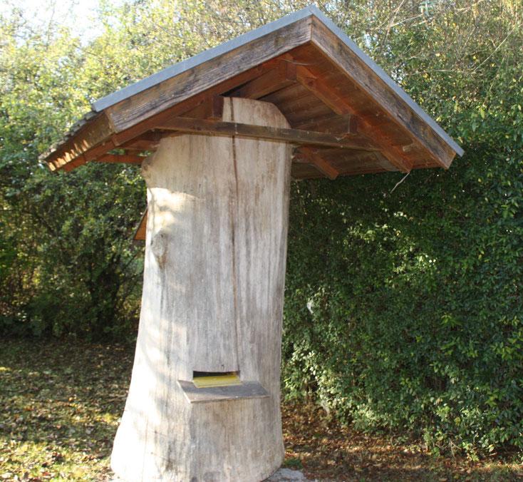 Das Bienenhaus - Foto vom 19.10.2009, Hans Koch