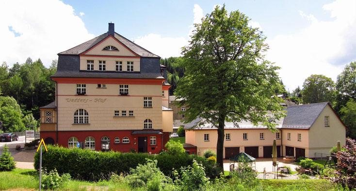 Vetters Hof mit Biergarten im Juni 2016
