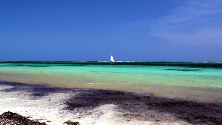 Spiagge a nord di Mombasa - Nyali Beach
