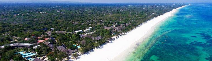 Litorale a sud di Mombasa - Diani Beach