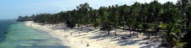 Shanzu Beach