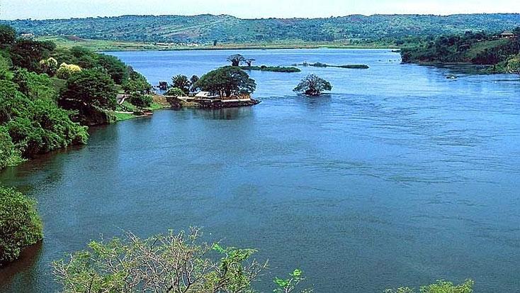 Uganda - Lo sbocco naturale del Nilo dal lago Victoria, spesso considerato convenzionalmente, ma erroneamente, la sorgente del Nilo.