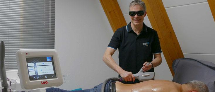 dauerhafte Haarentfernung mit dem HyperPulse-Gerät