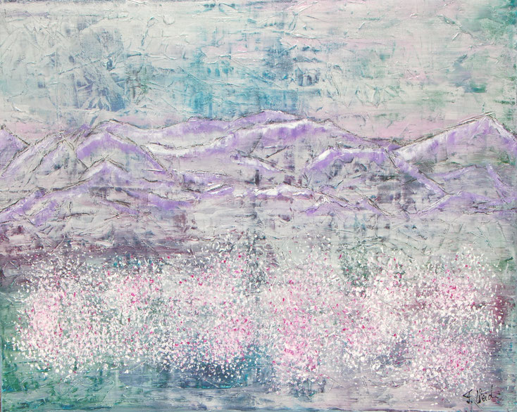 Abstakte Malerei von Florina Weidmann