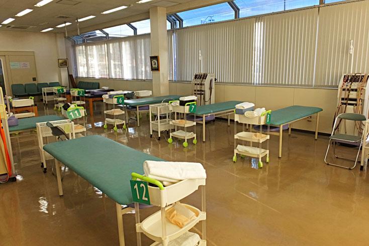愛知県丹羽郡扶桑町高雄定松90-1 山田整形外科 リハビリテーション室