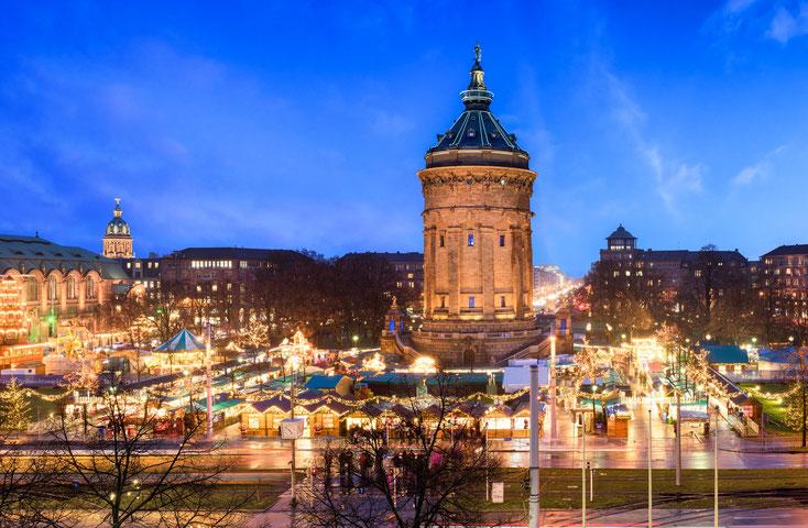 Wasserturm Mannheim; Detektei, Detektiv Mannheim, Privatdetektiv Mannheim, Wirtschaftsdetektei