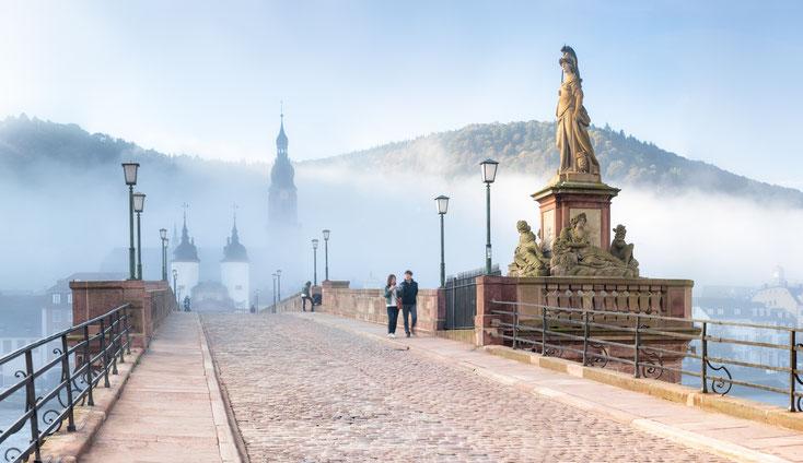 Alte Brücke Heidelberg; Detektiv-Team, Detektei Heidelberg, Detektiv Heidelberg, Detektei-Honorar