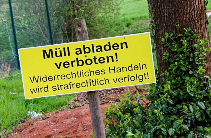 Vermüllung; Detektei Ludwigshafen, Detektiv Rhein-Neckar-Kreis, Privatdetektiv Speyer