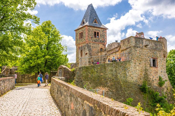 Burg Frankenstein; Wirtschaftsdetektei Bensheim, Privatdetektei Bensheim, Detektivteam Bensheim