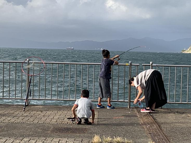 敦賀新港の釣り場
