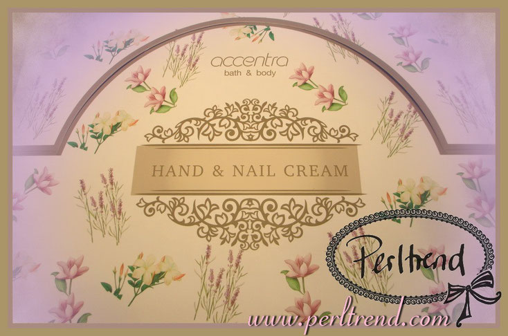 www.perltrend.com Kosmetik Hand & Nagelcreme Hand and Nail cream