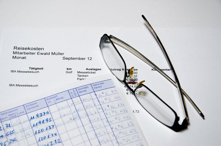 Reisekostenabrechnung; Detektei Hannover, Detektiv Hannover, Wirtschaftsdetektei Hannover