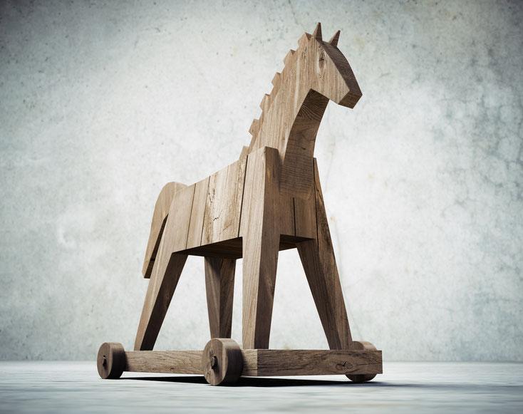 Trojanisches Pferd; Virenerkennung, Schadsoftwareanalyse, IT-Experte Bremen, IT-Spezialist