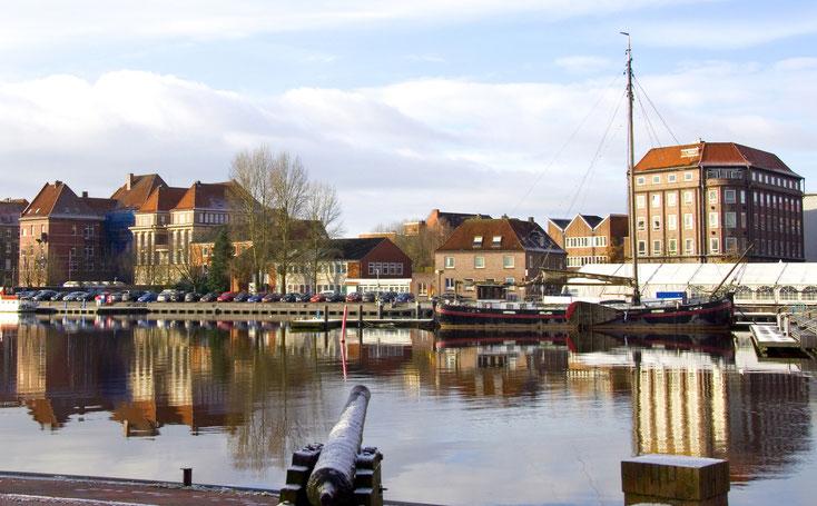 Hafen Emden; Detektei Emden, Detektiv Emden, Privatdetektiv, Wirtschaftsdetektei Emden