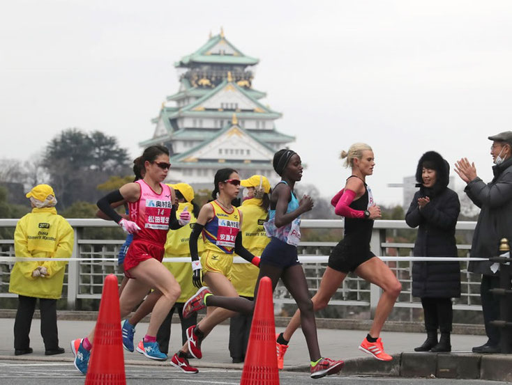 大阪国際女子マラソン2018