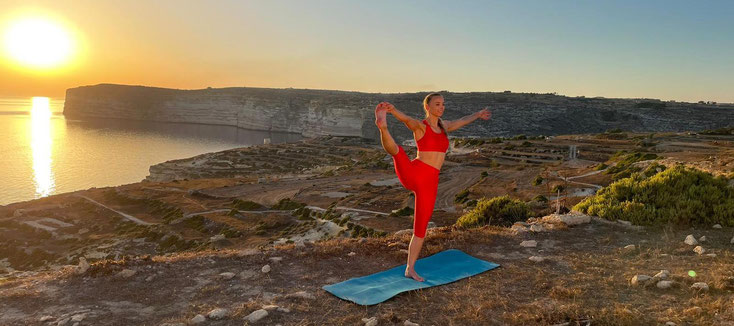 Nadine Brandl Yoga Magazin Malta Gozo Interview Studio Wien