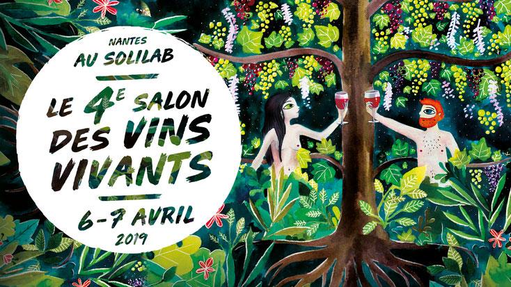 Le Salon des vins Vivants 2019 à NANTES