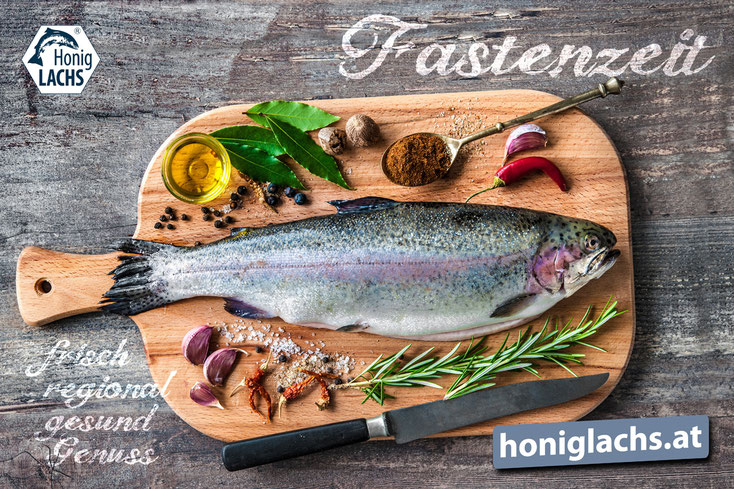 Frische, küchenfertige (ausgenommene) Lachsforelle