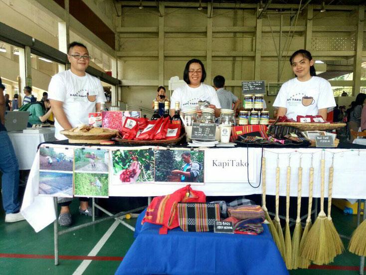Pop Up Shop at NGO Bazaar  in Manila Japanese School