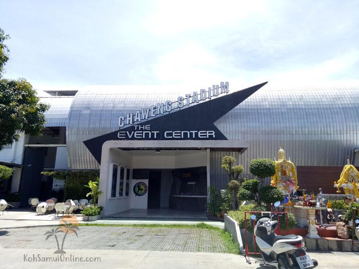Thaiboxstadion Koh Samui - Chaweng Stadion
