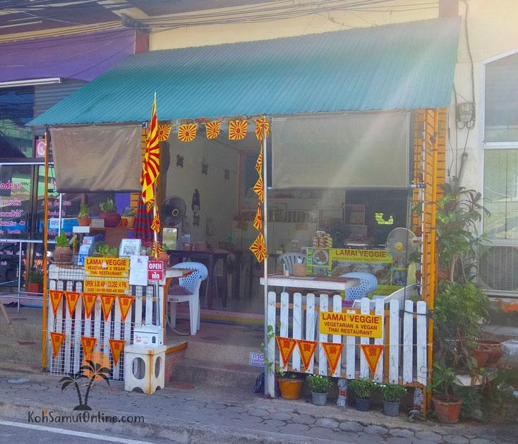 Veganes Restaurant Koh Samui