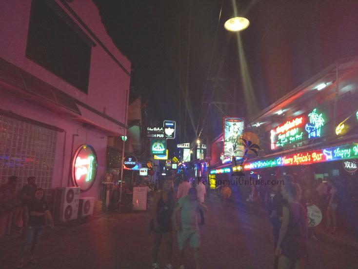 Nachtleben Koh Samui - Soi Green Mango