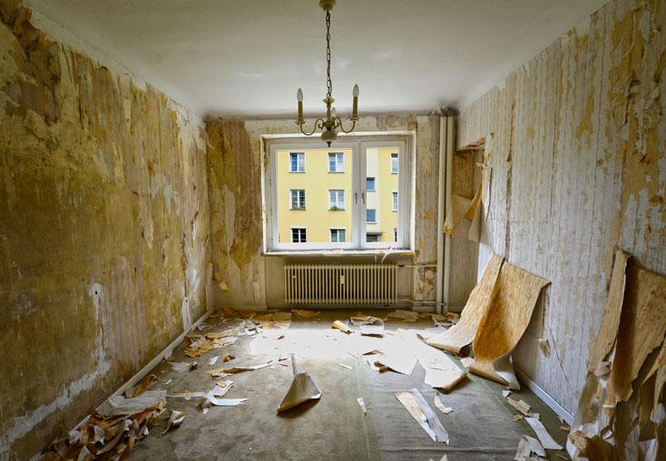 zerstörte Wohnung; Detektei Frankfurt am Main, Detektiv Frankfurt am Main, Privatdetektiv