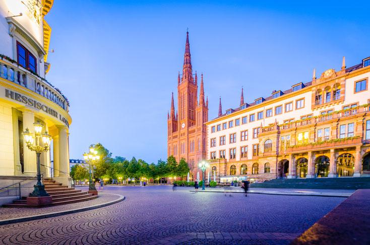 Neben der hessischen Landeshauptstadt an sich zählen auch die umliegenden Ortschaften in Hessen und Rheinland-Pfalz zum Einsatzgebiet der Detektei Kurtz.
