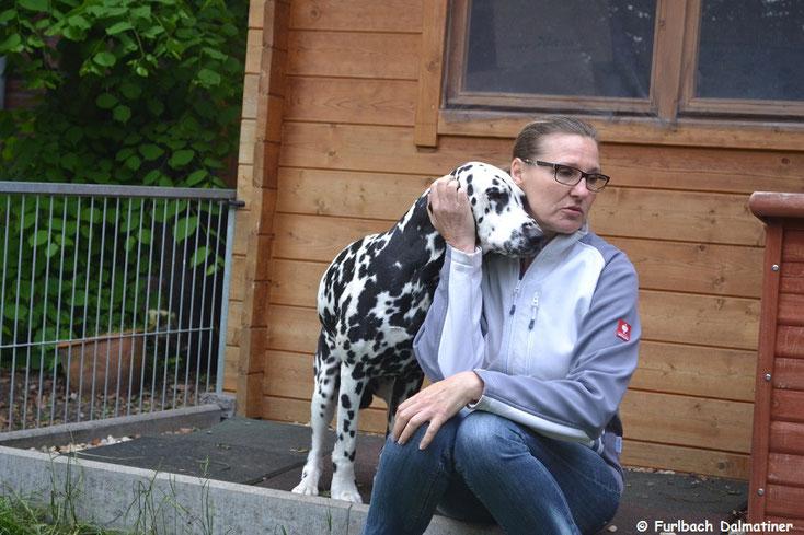 Angela mit Elton vom Furlbach...20.05.2017