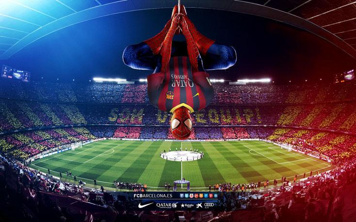 Spiderman troba l'origen dels seus colors i és contractat com a Cap de Seguretat al Camp Nou.