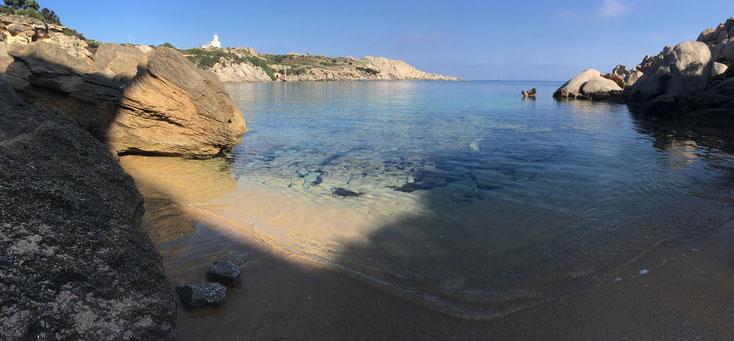 La plage de Cala Spinosa