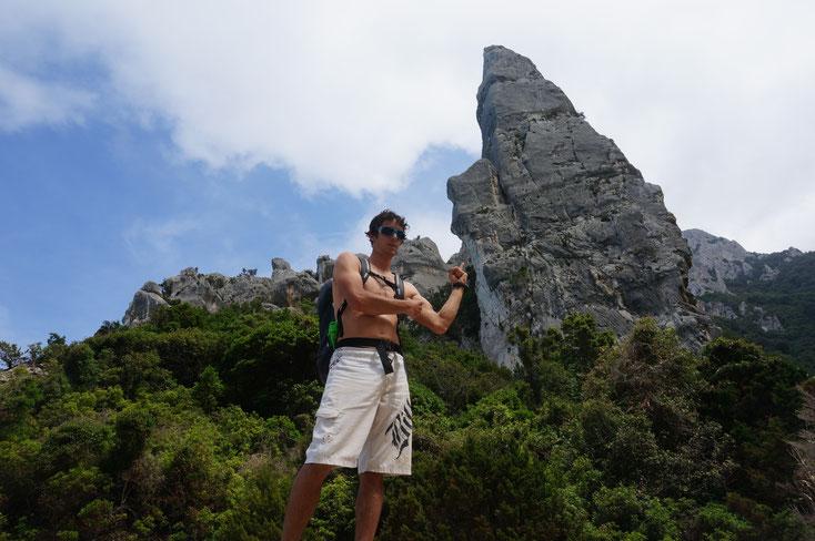 L'Aguglia, belle flèche calcaire