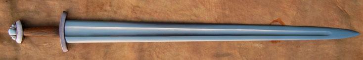 Der Berggeist Wikingerschwert Petersen Typ L Schwert Replikat