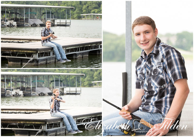 Kanas City senior photographer, high school senior, north kansas city high school, Kansas city fishing