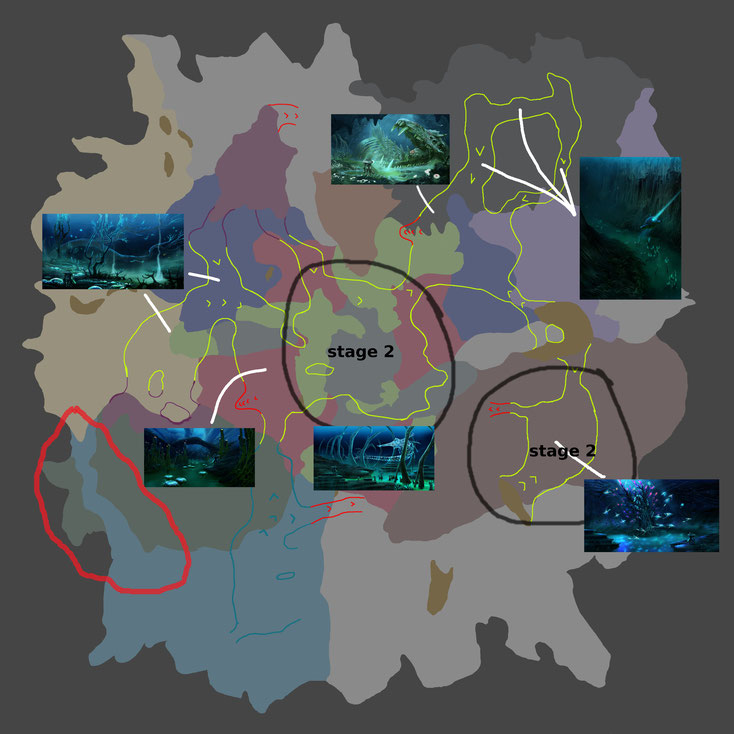 Subnautica Karte Deutsch.Subnautica Karte Inseln
