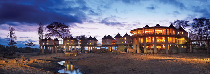 Salt Lick Lodge in den Taita Hills