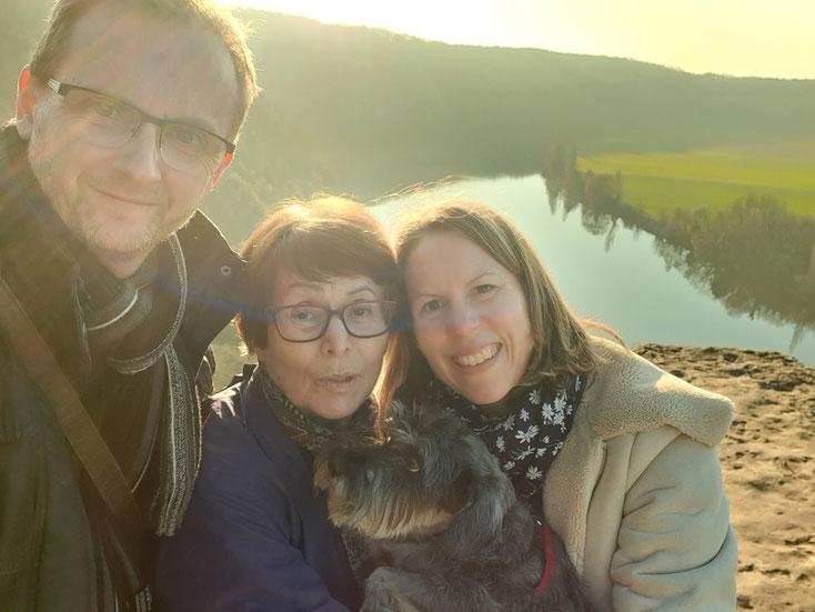 Photo de famille au Cingle de Trémolat