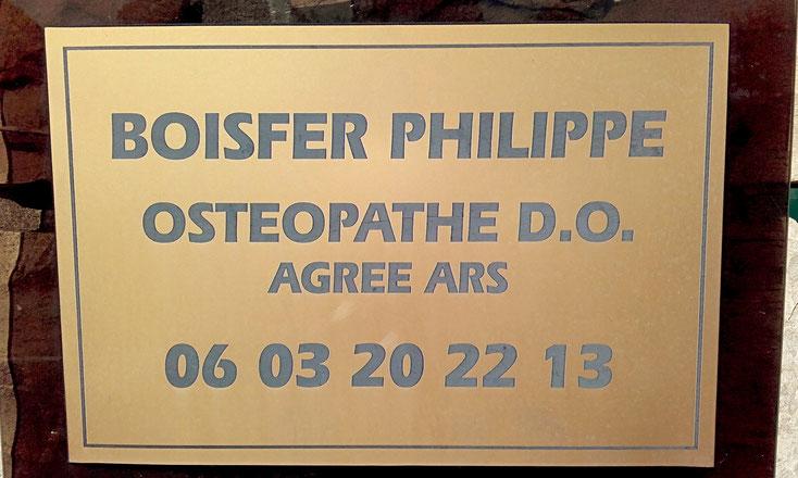BOISFER PHILIPPE Ostéopathe Agréé à ANGLET