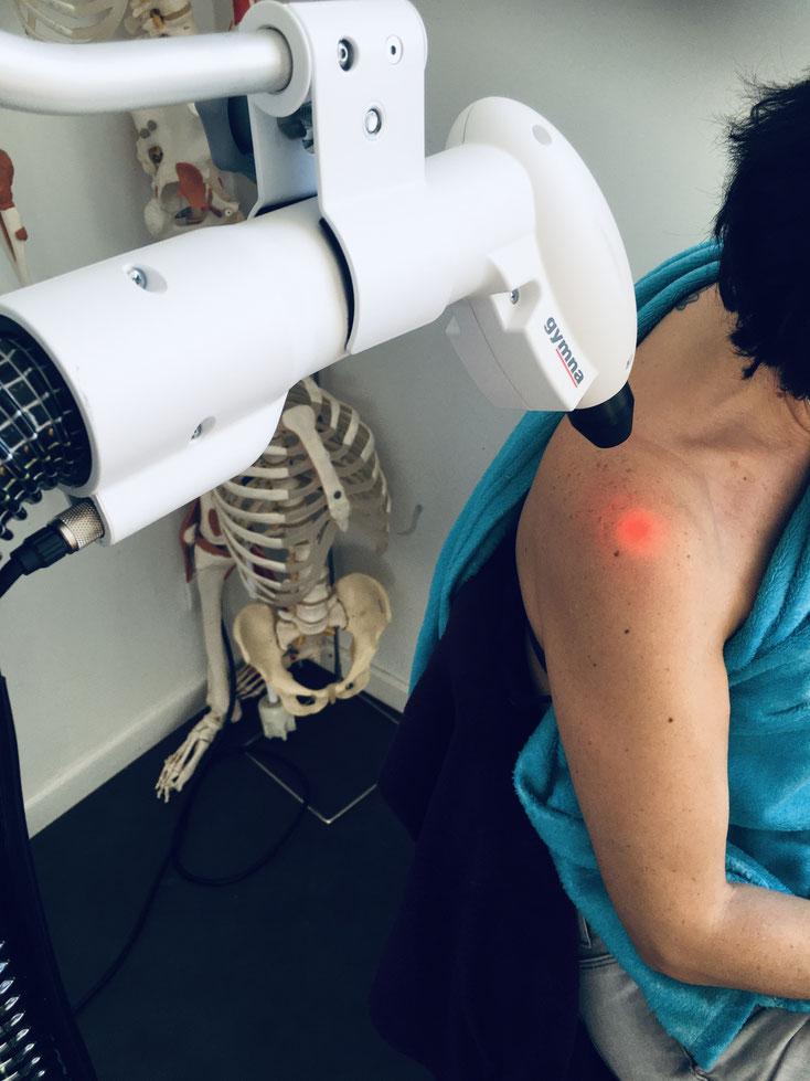 Cryothérapie péri-arthrite épaule avec capteur de température cutanée = aucun risque de brûlure
