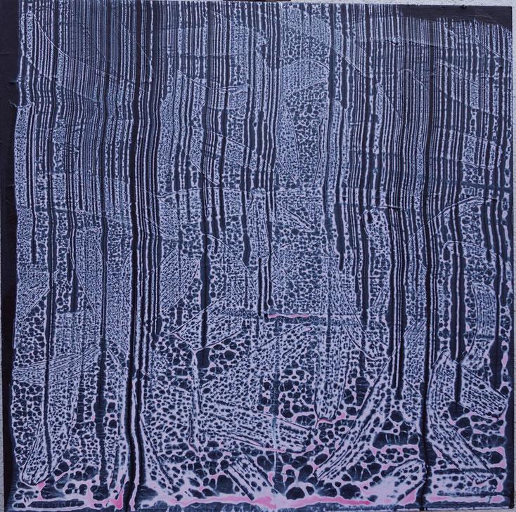P5, 2015, Acryl/MDF, 100 x 100 cm