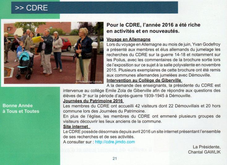 Bulletin municipal mars 2017